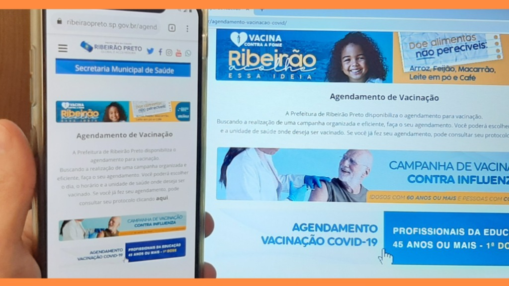 Ribeirão-pretanos reclamam de dificuldade em agendar vacinação