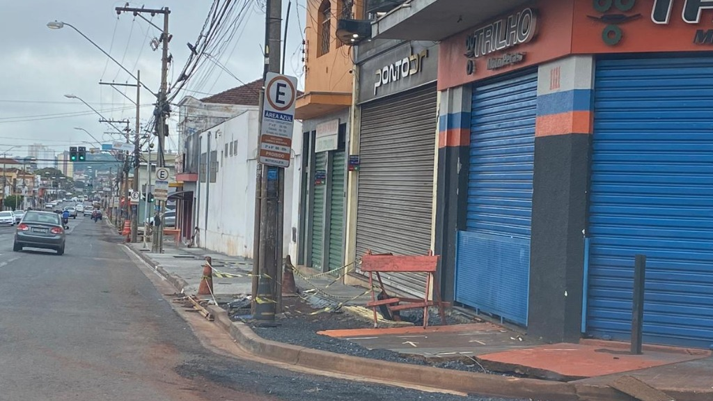 Obras de mobilidade urbana paralisadas em Ribeirão Preto devem retomar apenas em 2022