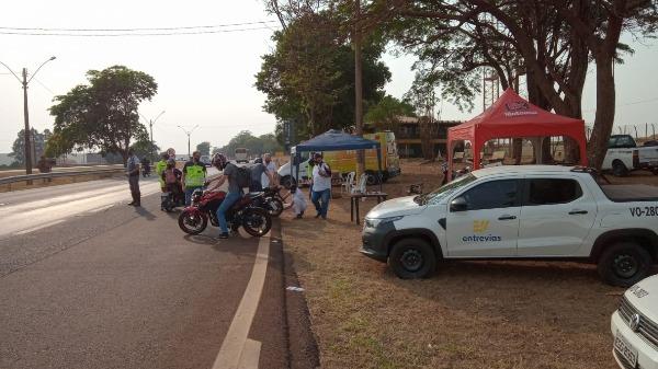 Concessionária realiza campanha para prevenir acidentes e conscientizar os motoristas