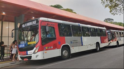 As novas coberturas dos pontos de ônibus já estão prontas. Foto: Divulgação/ Prefeitura de São Carlos - Foto: Divulgação