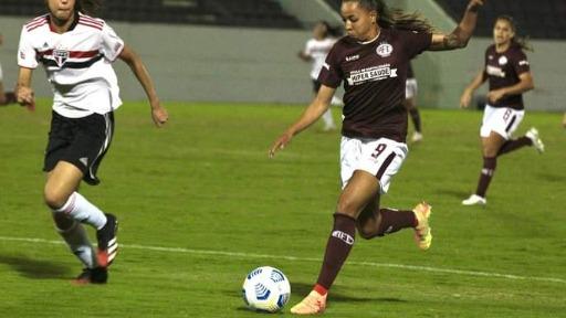 Com gol mal anulado, Guerreiras empatam com o São Paulo na Arena (Foto: Assessoria/Jonathan Dutra) - Foto: ACidade ON - Araraquara