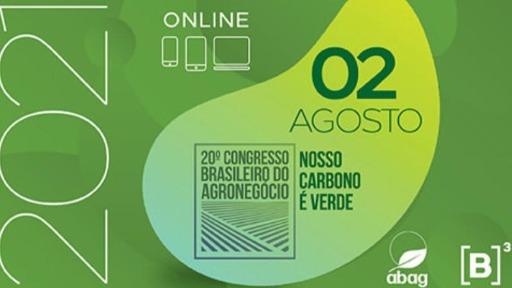 Começa nesta segunda-feira (02) o 20º Congresso Brasileiro do Agronegócio
