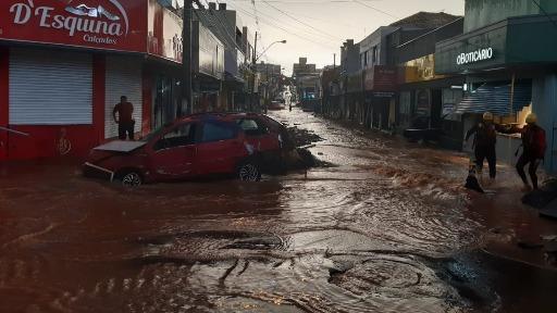 Chuva causa estragos e traz prejuízo em São Carlos