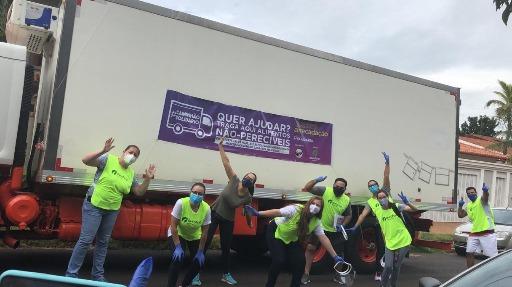 Caminhão Solidário EPTV + OUROFINO