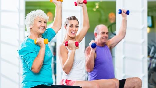 Exercícios na terceira idade - Foto: Divulgação - Foto: Divulgação