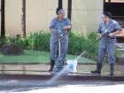Municípios, como Bebedouro e Morro Agudo, multam quem for flagrado lavando calçada ou carros: desperdício de água - Foto: Weber Sian