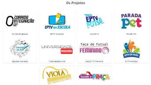 Grupo EP lança site com histórico de eventos realizados pela empresa