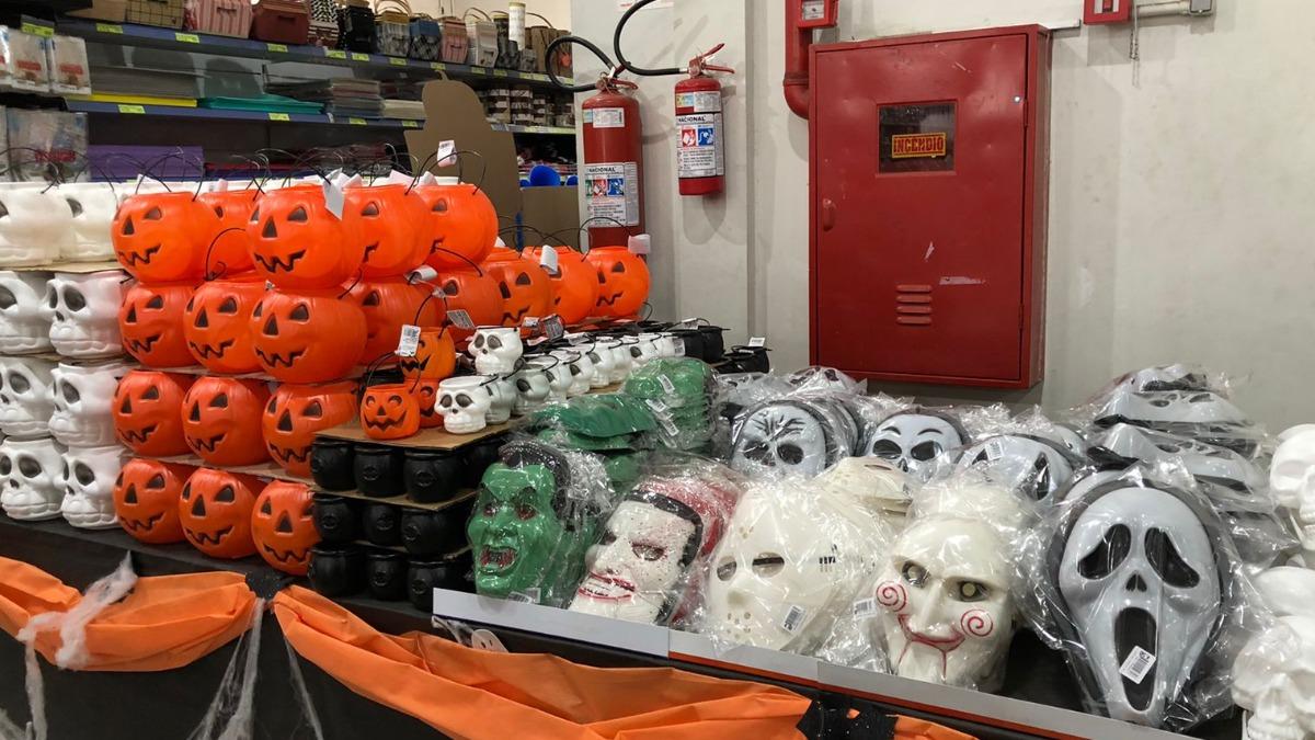 Halloween aquece vendas em lojas com produtos para a festa