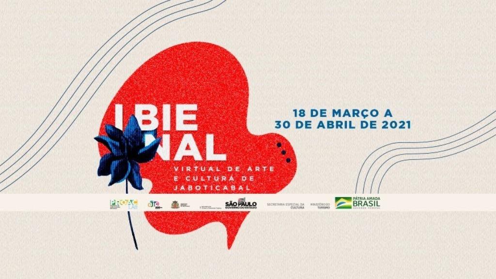Estão abertas as inscrições para a 1ª Bienal Virtual de Artes e Cultura de Jaboticabal
