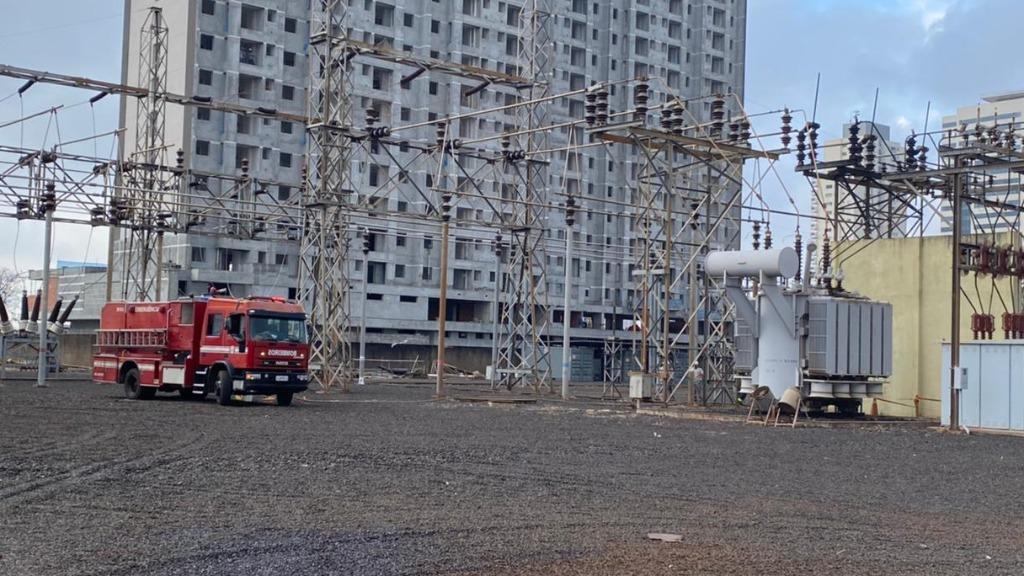 Pane em transformador causa incêndio em subestação da CPFL e causa queda de energia na Zona Sul de Ribeirão