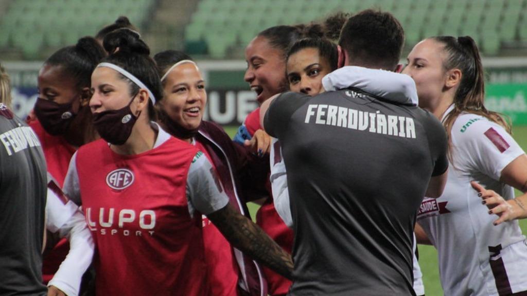 Ferroviária conquistou empate contra o Palmeiras, no Allianz Parque - Foto: Ferroviária SA/ Divulgação - Foto: Divulgação