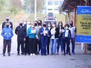 Drive-thru da Campanha do Agasalho da EPTV arrecada mais de 63 toneladas de doações