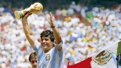 Arena CBN homenageia Diego Armando Maradona