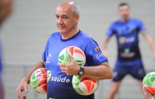 Marcos Pacheco, técnico do Vôlei Ribeirão - Foto: ACidade ON - Ribeirão Preto