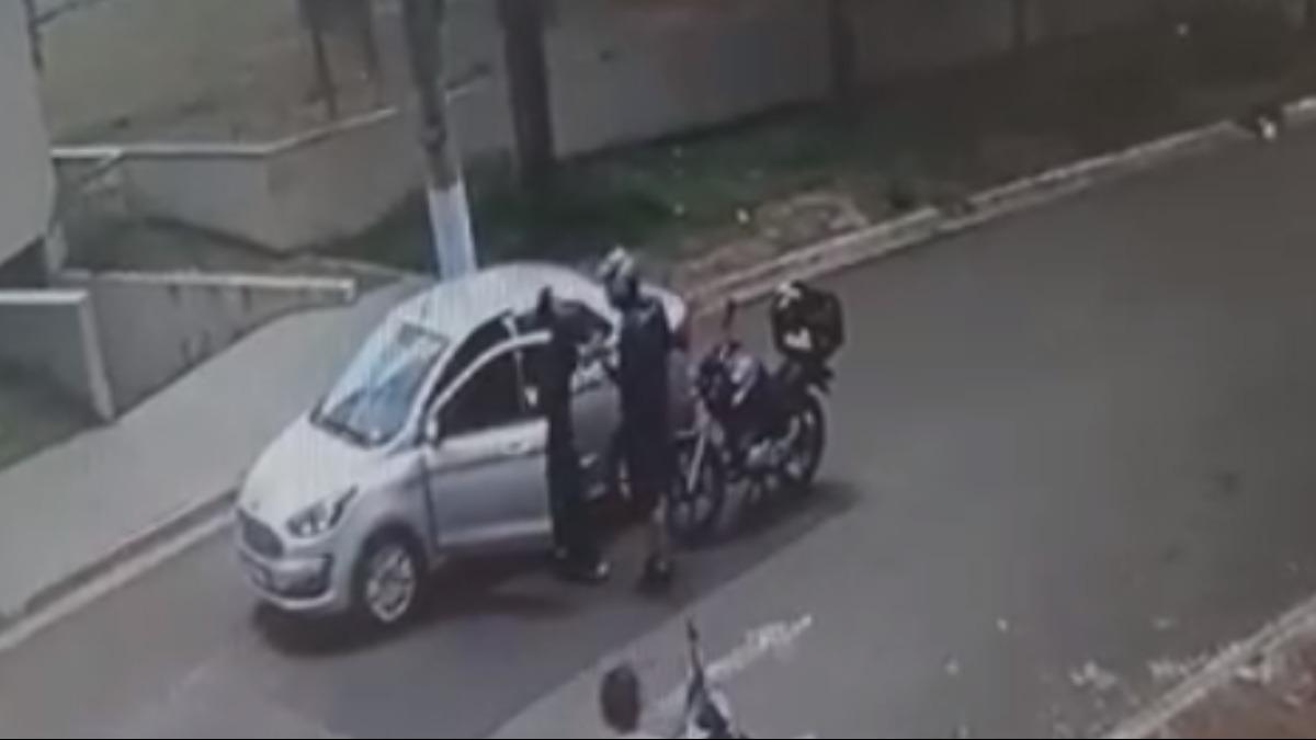 Motorista é agredida por motociclista durante discussão no trânsito em Ribeirão