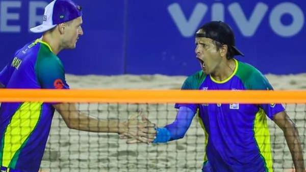 Brasil bate a Itália e é tetra campeão mundial de beach tennis!