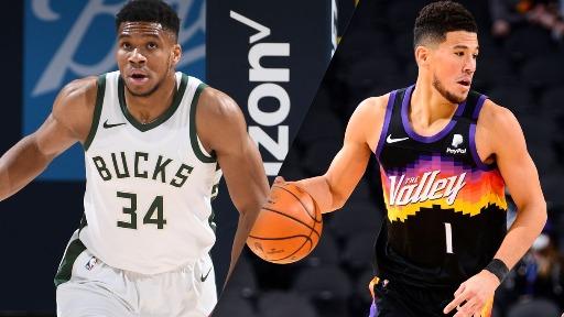 Phoenix Suns e Milwaukee Bucks começam a decidir quem será o campeão da NBA