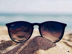 Óculos de sol pode se transformar para leitura com um toque