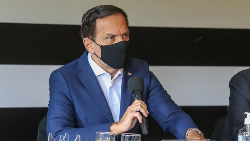 Doria anuncia retomada do Campeonato Paulista