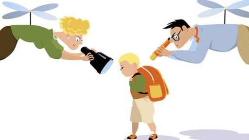 Pais superprotetores têm a tendência de estar sobrevoando a vida dos filhos