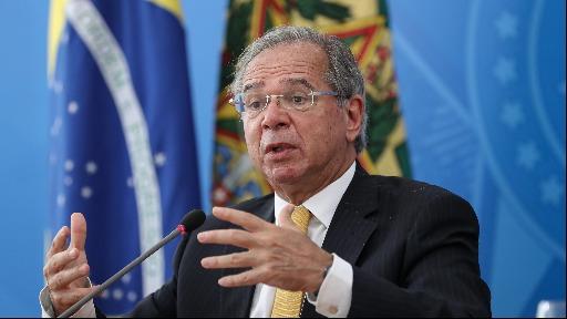 Ministro Paulo Guedes fala em