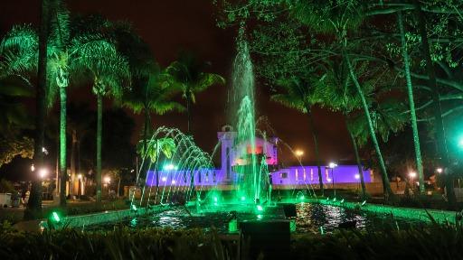 Fonte Luminosa: atração para as famílias de Araraquara é o destino da semana