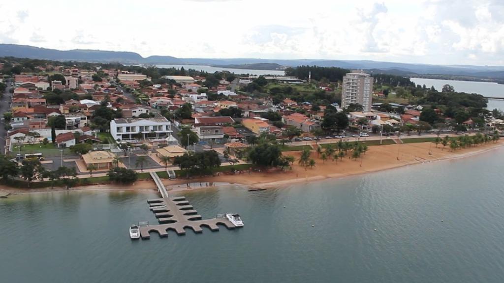 Praia artificial de Rifaina - Foto: EPTV/ Reprodução