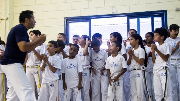 Projeto de capoeira na região de Ribeirão atende mais de 300 crianças em vulnerabilidade social