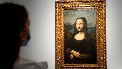 Cópia do quadro Mona Lisa é leiloado por 2,9 milhões de euros