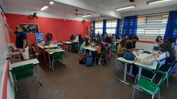 Sala de aula - Foto: Naiana Kennedy/ CBN Ribeirão
