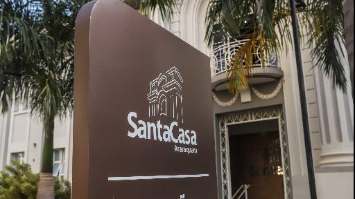 Santa Casa Araraquara (Foto: Amanda Rocha) - Foto: Amanda Rocha