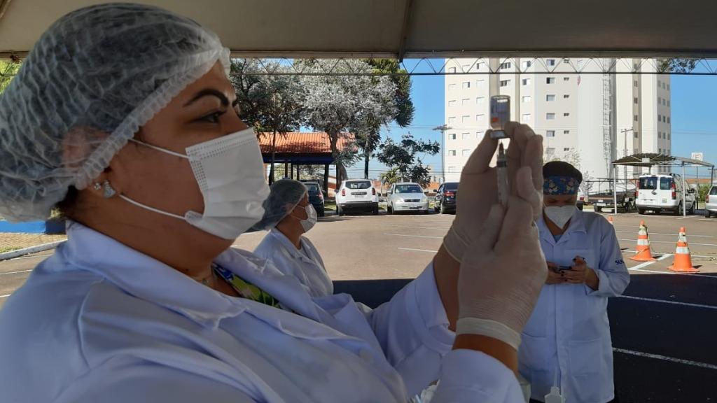 São Carlos soma 85 mil doses de vacina contra a Covid-19 aplicadas