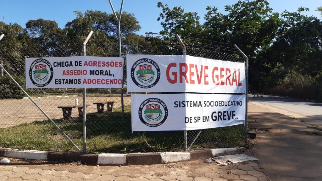 Servidores da Fundação Casa de São Carlos aderem à greve