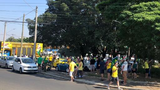 São Carlos e Araraquara têm manifestações contra e a favor de Bolsonaro