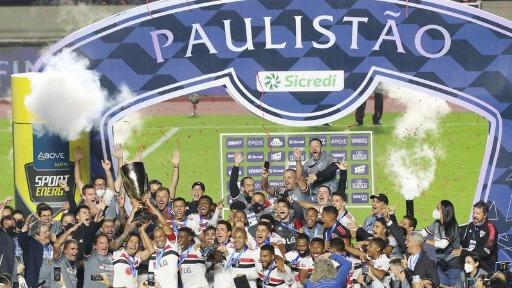 São Paulo vence Palmeiras por 2 a 0 e é Campeão Paulista