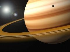 Planeta Saturno fica visível a olho nú