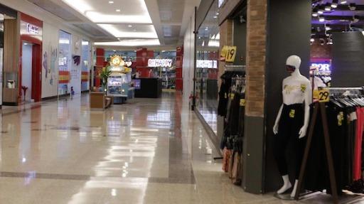 Shoppings paulistas registram queda de 72% na movimentação