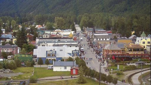 Skagway, no Alasca, é um destino de belas paisagens e um local importante na Corrida do Ouro no séulo XIX