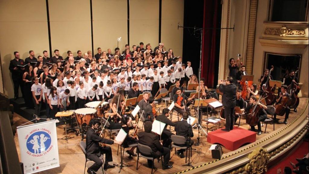 Orquestra Filarmônica da USP Ribeirão se apresenta, após um ano e meio, com público no Pedro II