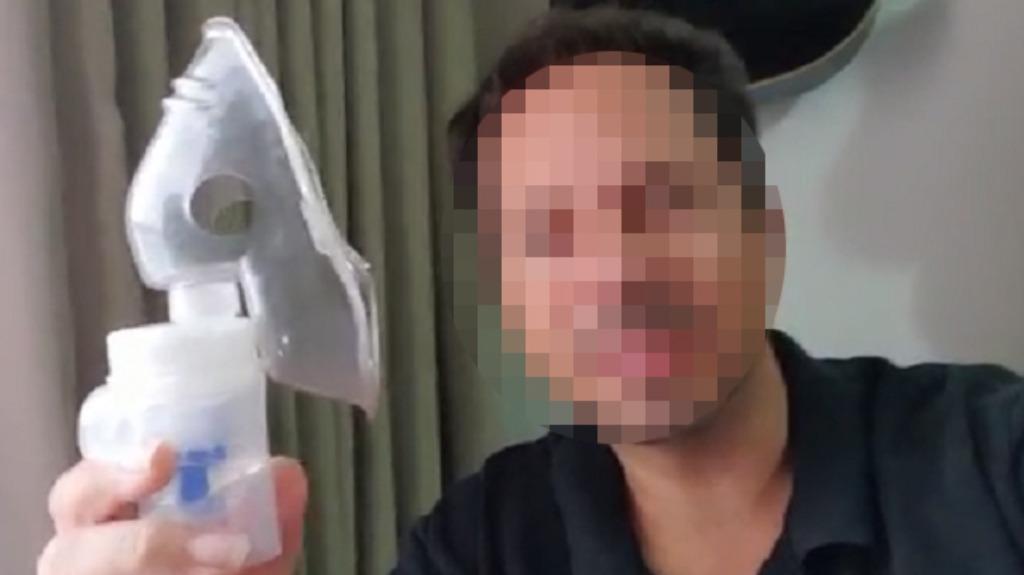 Vídeo fake: inalação de água sanitária e bicarbonato não é eficaz contra Covid
